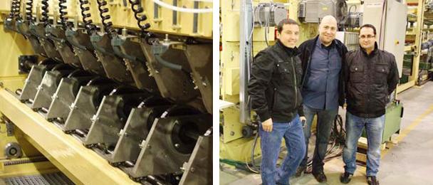 西班牙Boxing Clever大型瓦楞纸箱机采用整套的艾默生CT驱动器